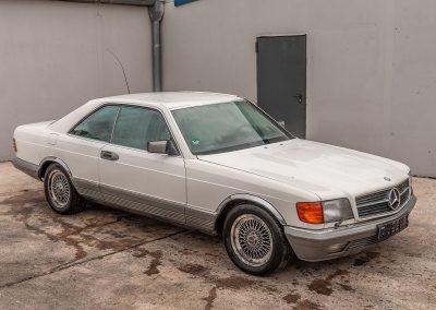 Mercedes Benz weiß | VERKAUFT