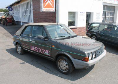 Fiat Ritmo Cabrio | VERKAUFT