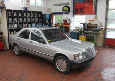 Mercedes Benz W201 190D 2.5 | VERKAUFT